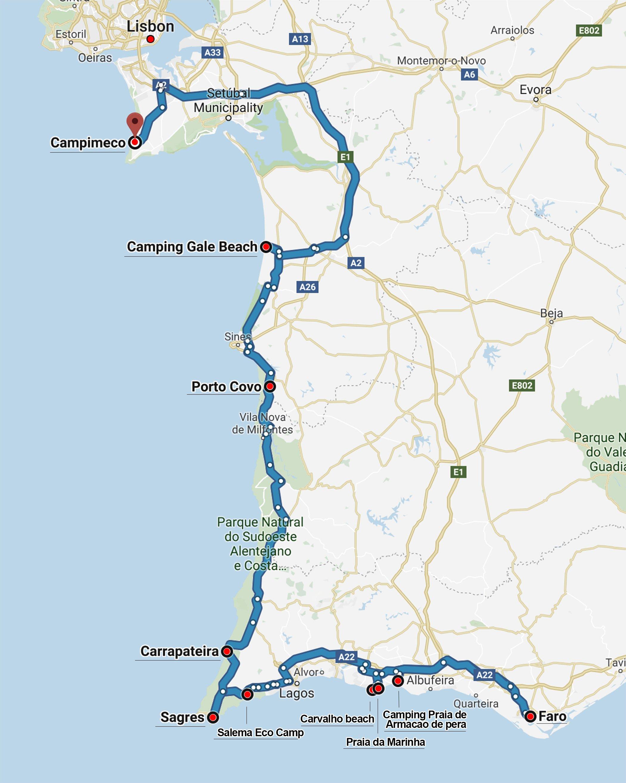 Map google portugal roadtrip mikuta places mikuta map google portugal roadtrip mikuta places gumiabroncs Choice Image