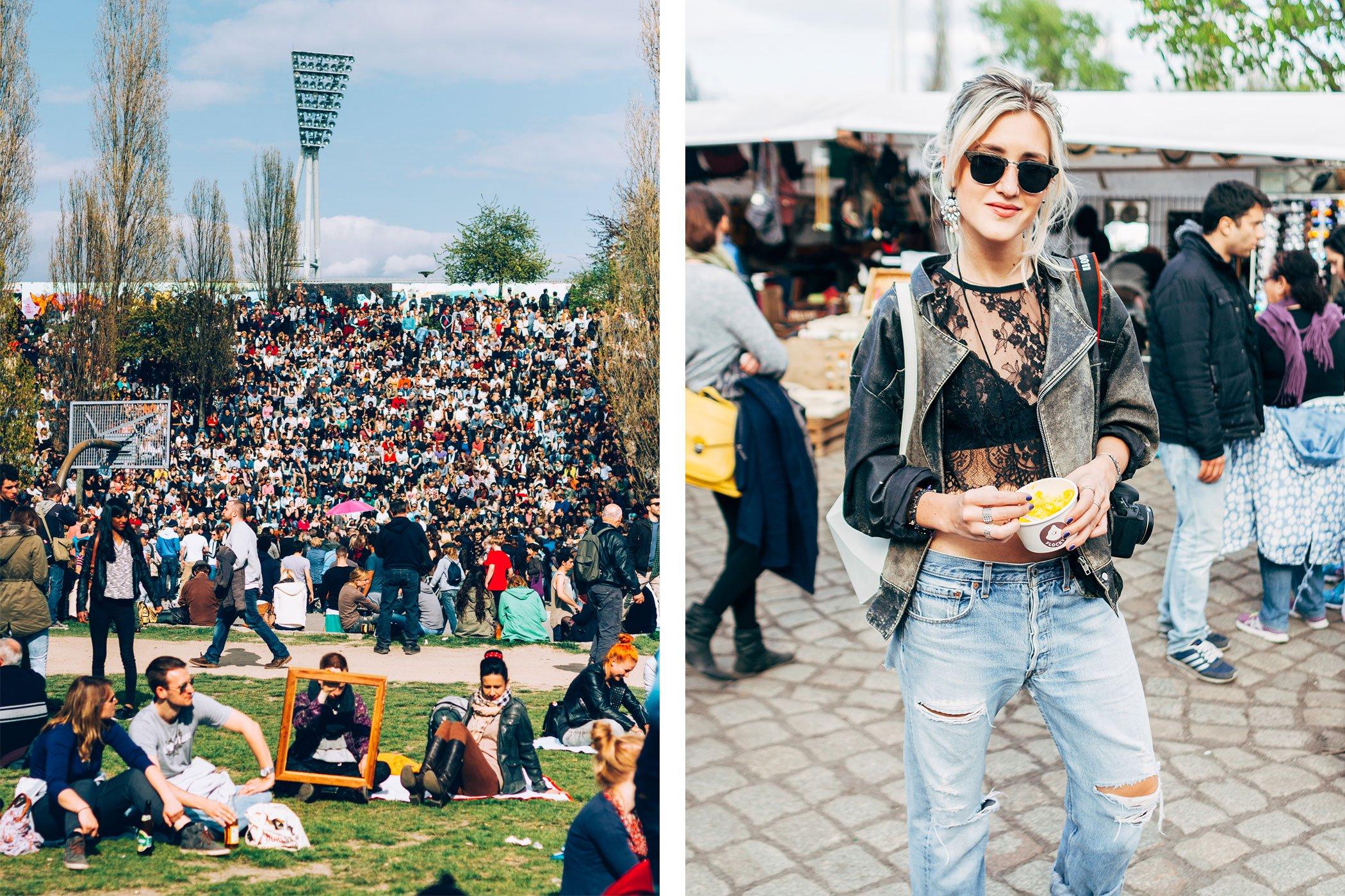 mikuta having fun in mauerpark berlin