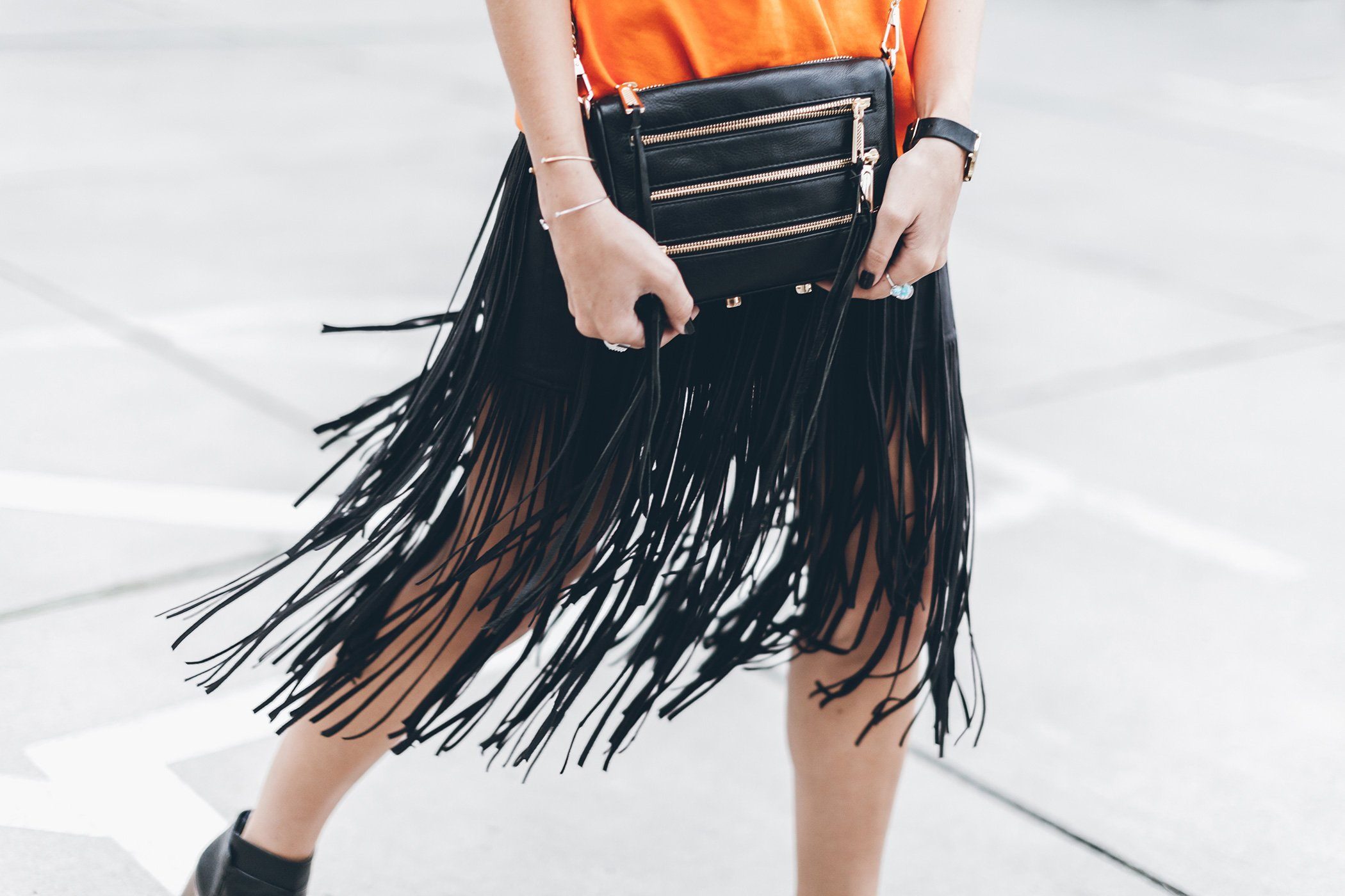 mikuta-fringe-skirt-orange-sweater-4