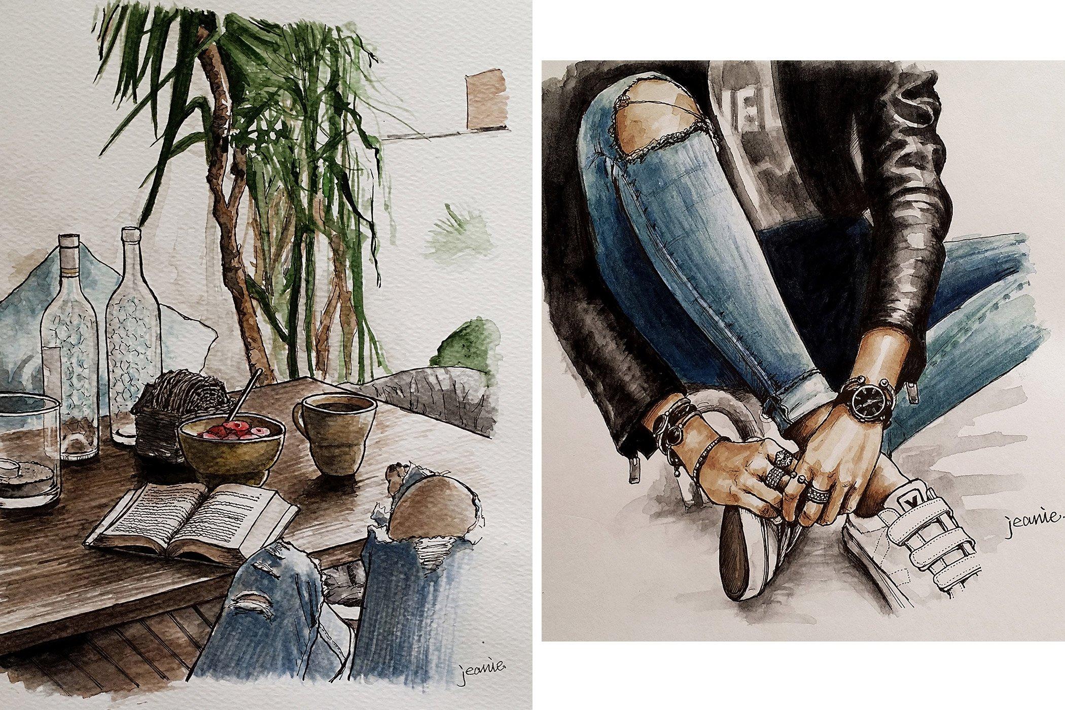 Beautiful Drawings 187 Mikuta Nu