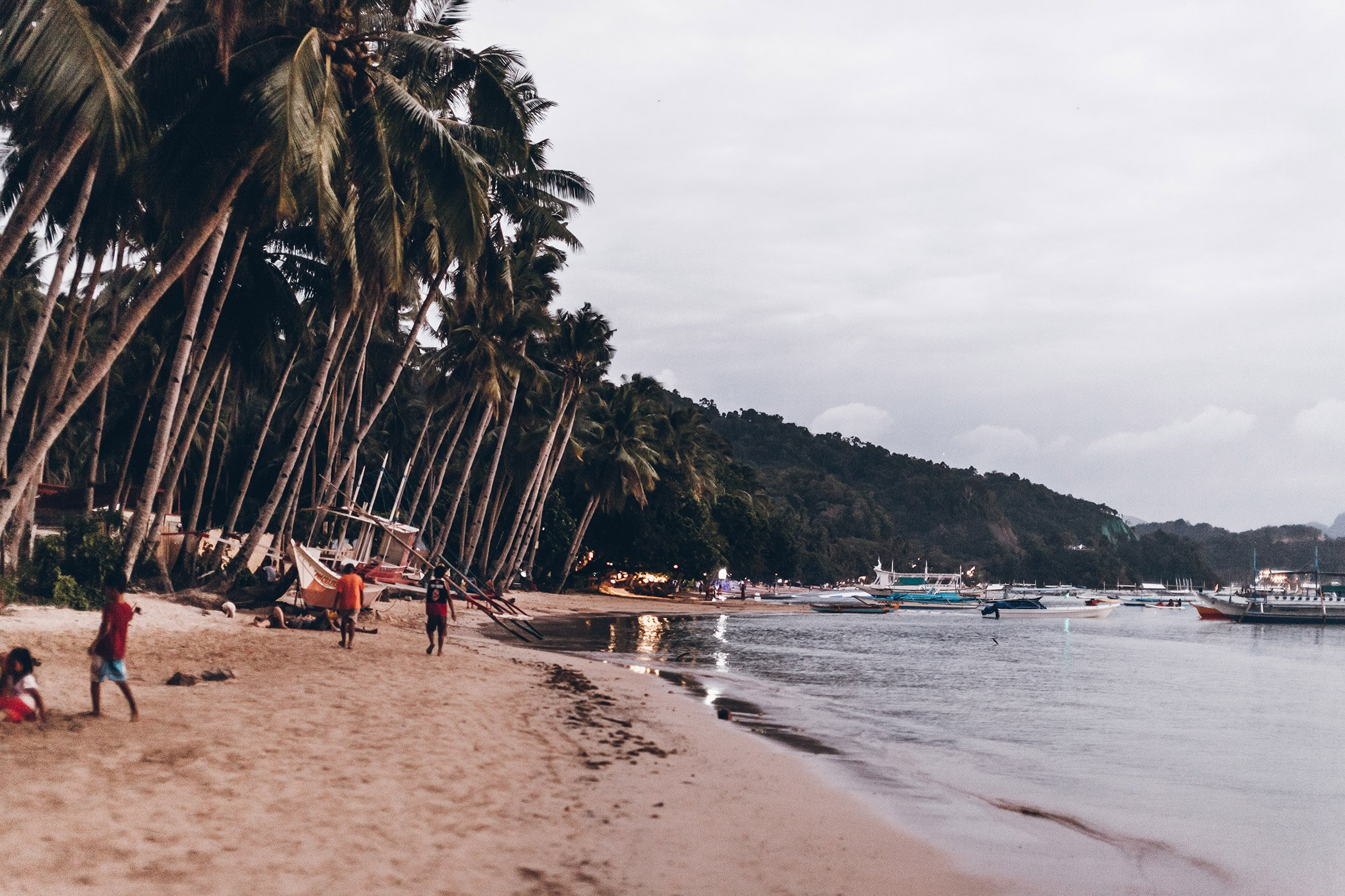 a24501e8a8 The Corong corong beach is the closest beach to town, walking distance from  the main road or 100PHP with a tricycle (like a tuktuk). The beach itself  is not ...